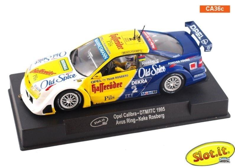 Slot.it Opel Calibra - DTM/ITC 1995 Avus Ring - Keke Rosberg