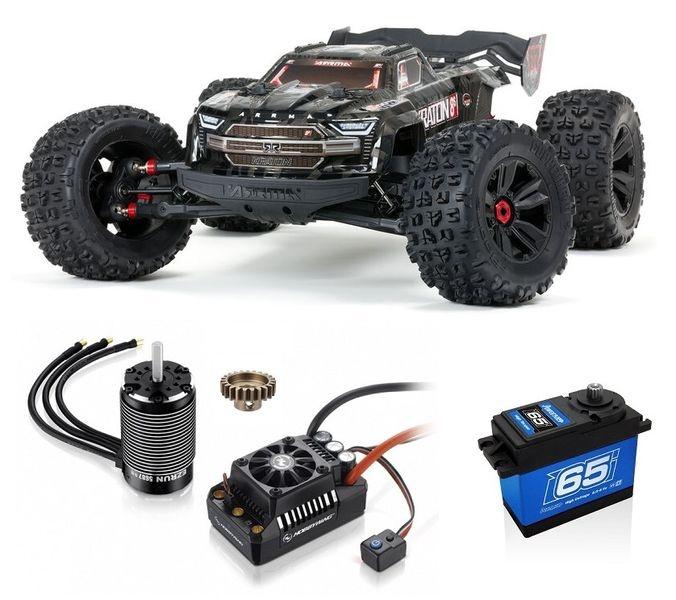 Arrma 1/5 KRATON 4WD EXtreme Bash Roller, Black Bausatz 1:5