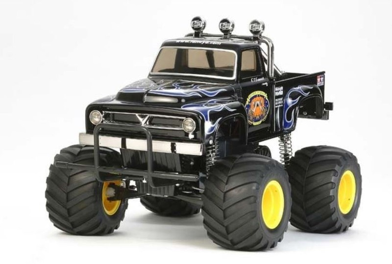 Tamiya RC Midnight Pumpkin 2WD Monstertruck CW-01