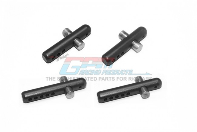 GPM aluminium+stainless steel front+rear body post 4PC SET