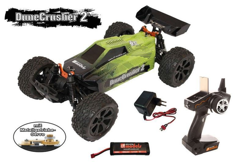 DF-Models Dune Crusher 2 4WD Buggy brushed 2.4GHz RTR 1:10