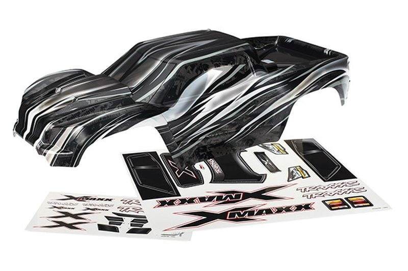 Traxxas Karosserie, XMAXX, ProGraphix +Decal sheet