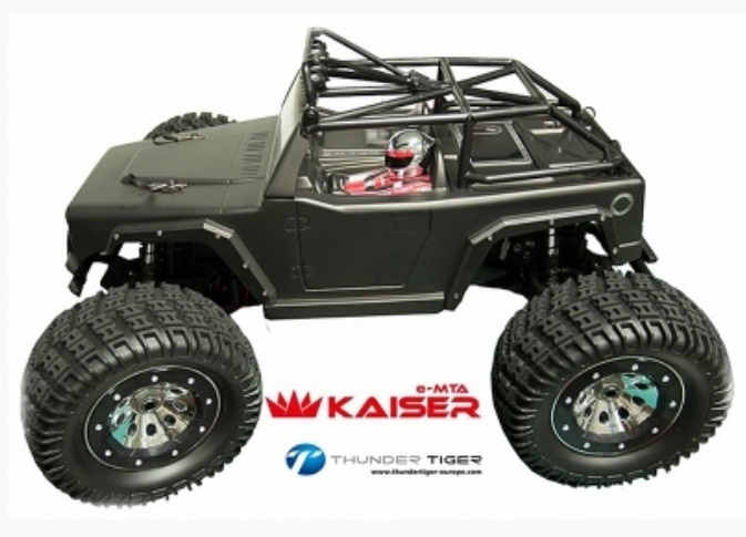 Thunder Tiger KAISER e-MTA BL 4WD 6S Monster-Truck 2.4GHz