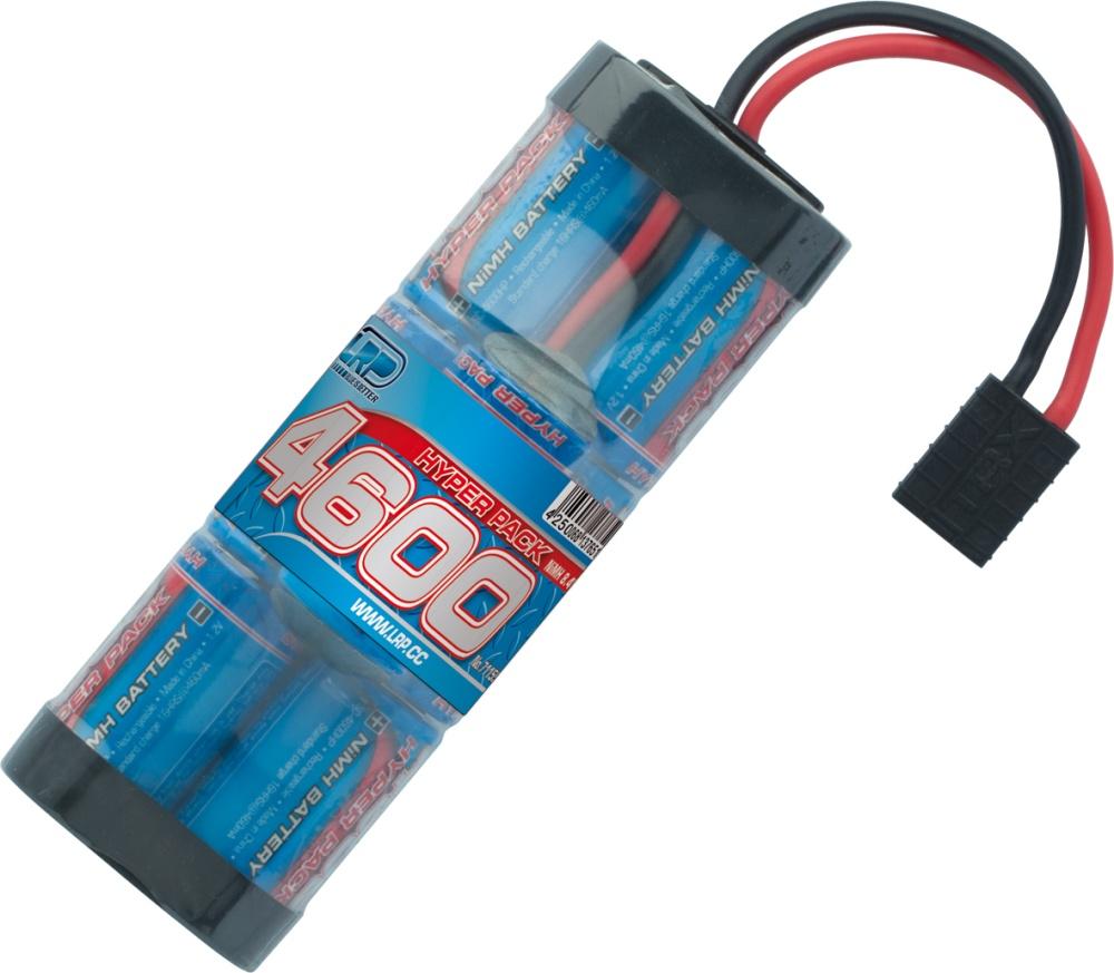 LRP Hyper Pack 4600 - 8.4V - 7-Zellen Hump NiMH Stickpack