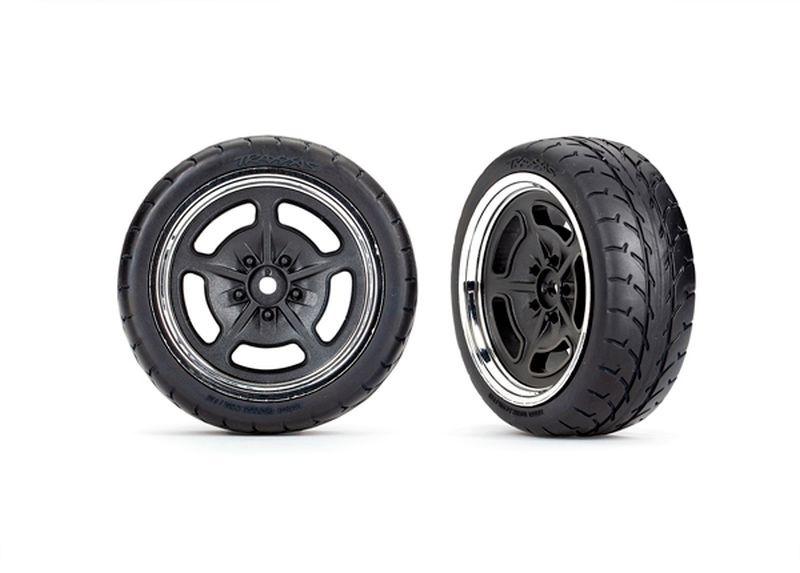 Traxxas Reifen auf Felge vorn (2) TRAXXAS 4-Tec 3.0