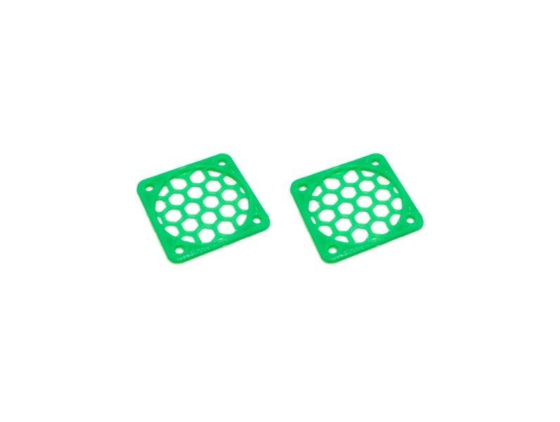 JS-Parts Lüftergitter 30mm / 2 Stück (Set) grün