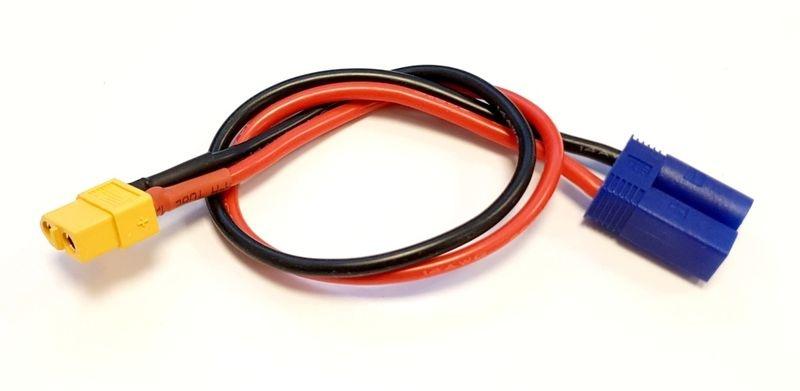 MLine Ladekabel XT60 Buchse / EC3 passend für HOTA / ISDT