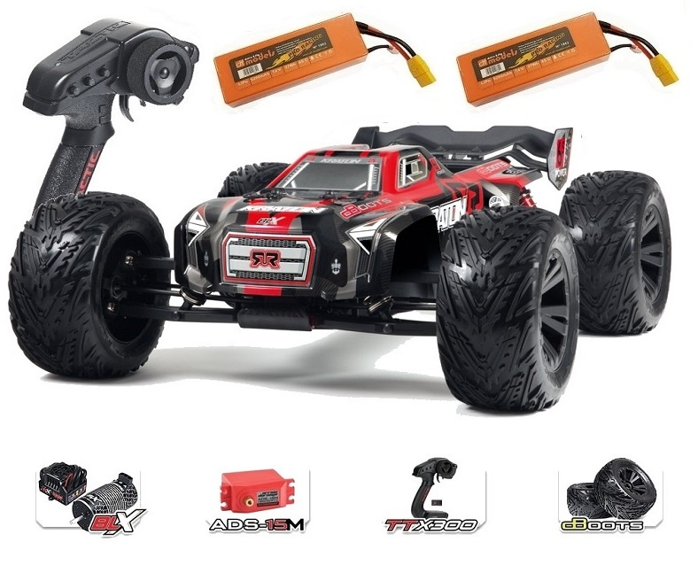 Arrma Kraton 6S BLX 4WD Electric Speed Monstertruck 2.4GHz