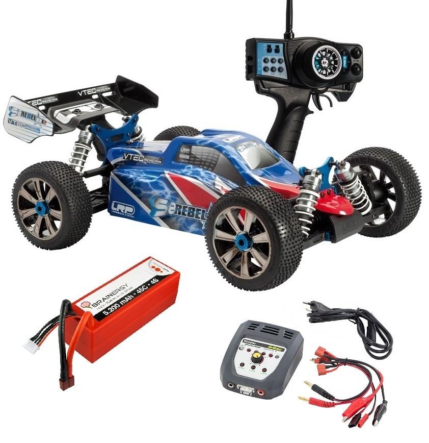 LRP S8 Rebel BXe 2.4GHz Elektro Buggy 1:8 RTR -SPARSET2-