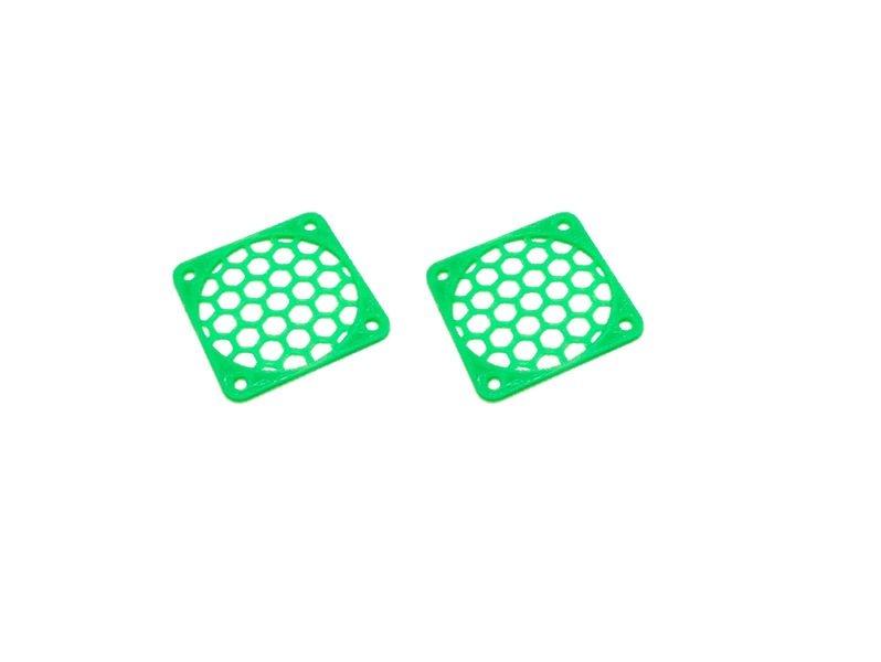 JS-Parts Lüftergitter 35mm / 2 Stück (Set) grün