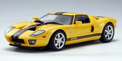 AutoArt Ford GT 2004 gelb