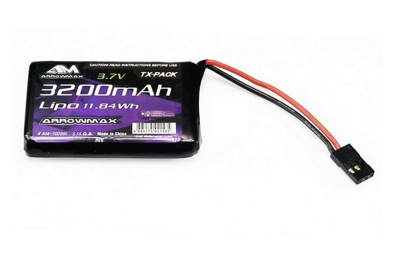 Arrowmax LiPo 3200mAh 3.7V 1S For Sanwa MT-44