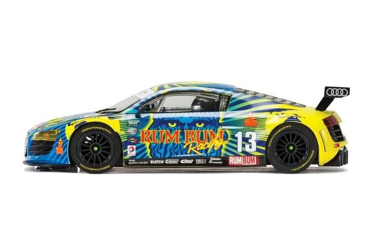Scalextric Audi R8 LMS #13 Rum Bum Racing HD