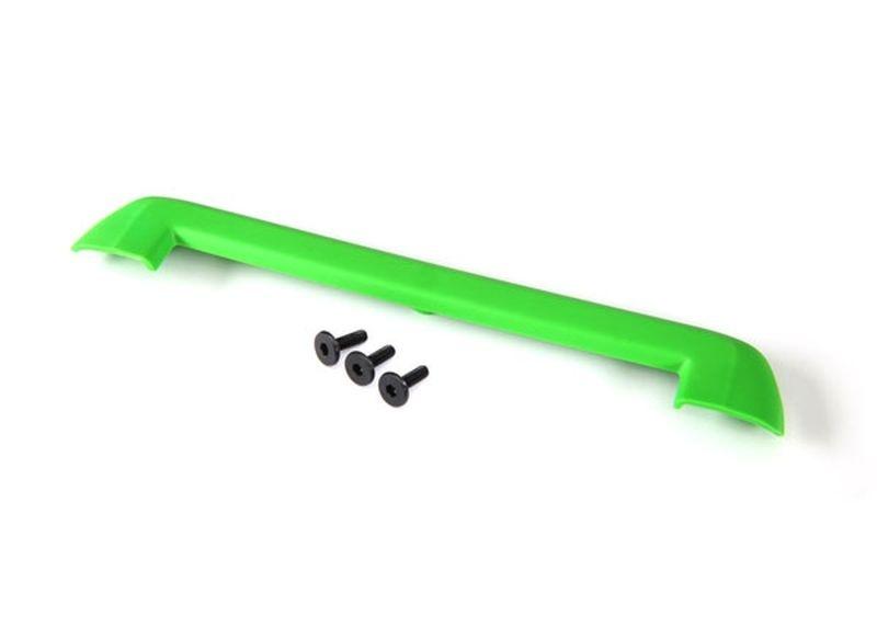 Traxxas Tailgate Schutz grün + Schrauben