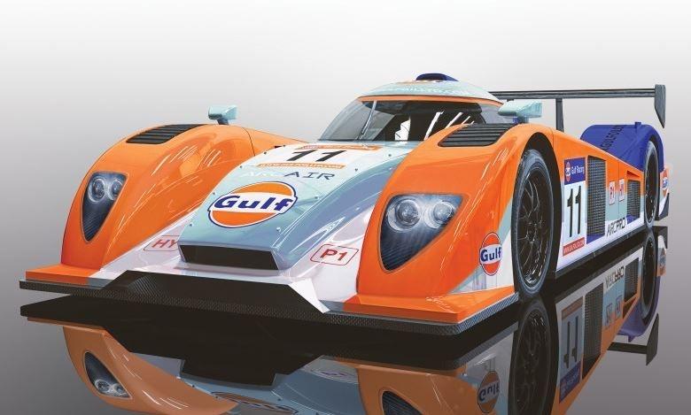 Scalextric 1:32 Team LMP Gulf #11 SRR