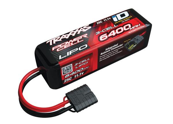 Traxxas 6400mAh 11,1V 3-Zellen 25C LIPO mit iD-Stecker