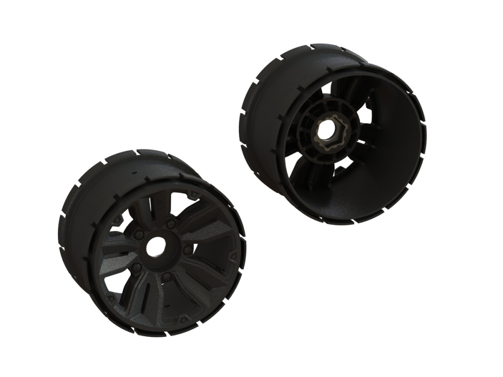 Arrma Mt Wheel 4.9 24mm Hex (1 Pair) (ARA510122)