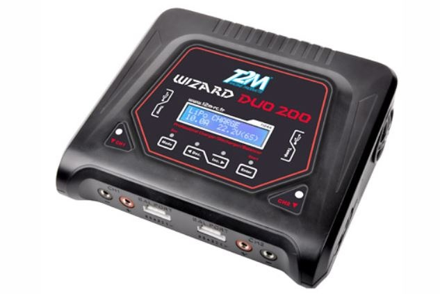 T2M Wizard Duo 200 Hi-End 2 IN 1 Lader/Balancer