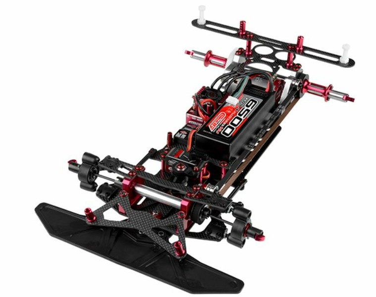 Team Corally SSX-8R Car Kit - Chassis Kit - Bausatz 1:10