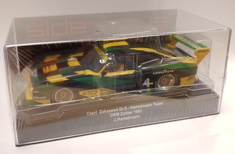 Sideways Ford Capri Gr.5 Team Hamelmann Zolder 1981