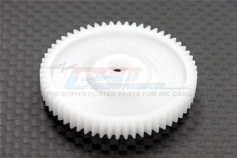 GPM delrin spur gear 42 pitch 60T - 1PC for Tamiya TT-01