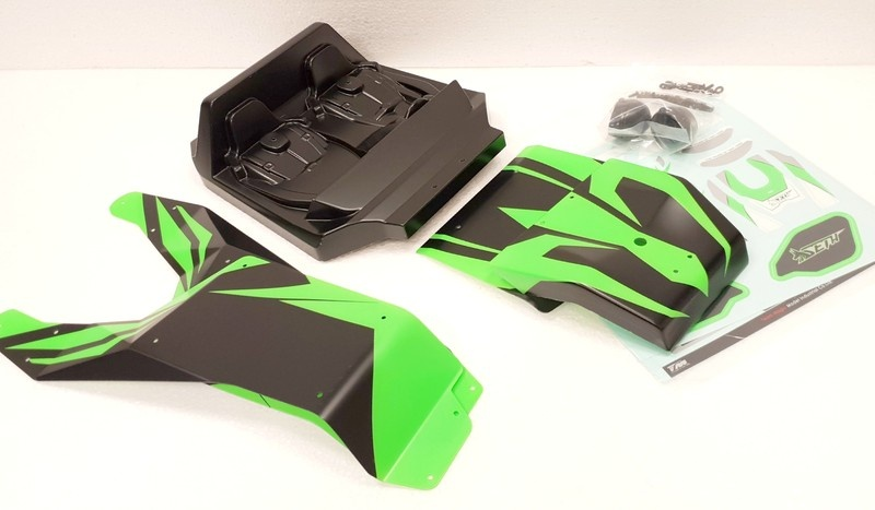 Team Magic Spare Part - SETH - Cabin and Panels - Green