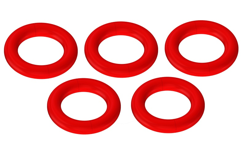 Team Corally O-Ring - Silicone - 5x8mm - 5 pcs