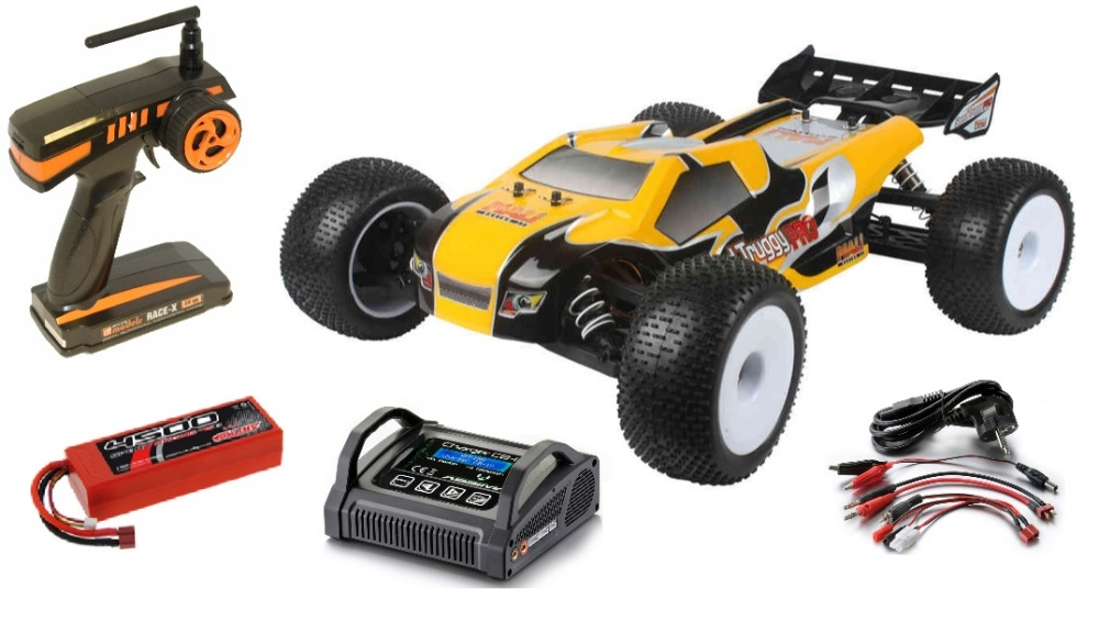 DF-Models Speed Truggy PRO Top-Line ARR 1:8 - Sparset -