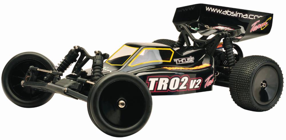 Team C EP Buggy TR02V2 2WD Brushed Kit/Bausatz 1:10