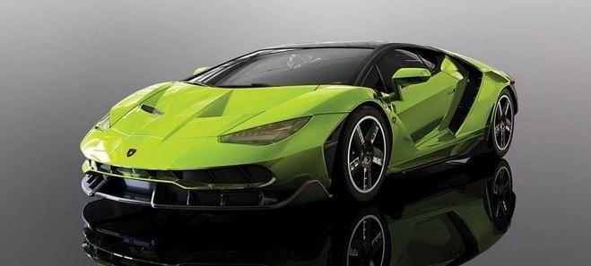 Scalextric 1:32 Lamborghini Centanario Green SRR