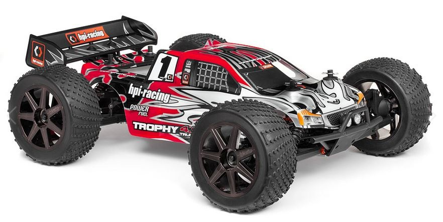 HPI Trophy 4WDTruggy 4.6 2.4GHz RTR 1:8
