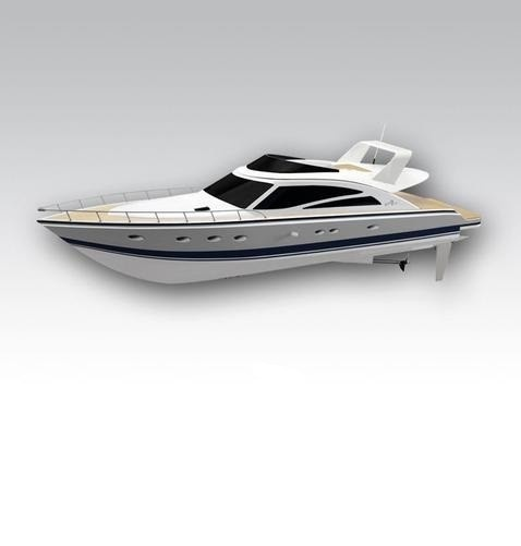 Thunder Tiger RC Boot Atlantic Motoryacht OBL Brushless