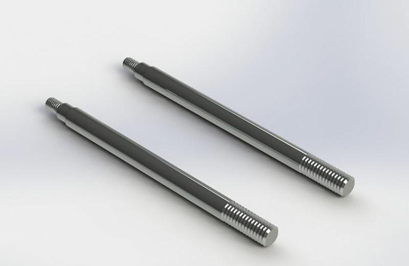 Arrma RC Dämpfer-Kolbenstange 4x63mm (2)