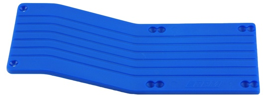 RPM Center-Skid Plate Set blau Traxxas E/TMaxx 3.3