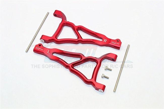 GPM aluminium front upper suspension arm - 1PR set (for