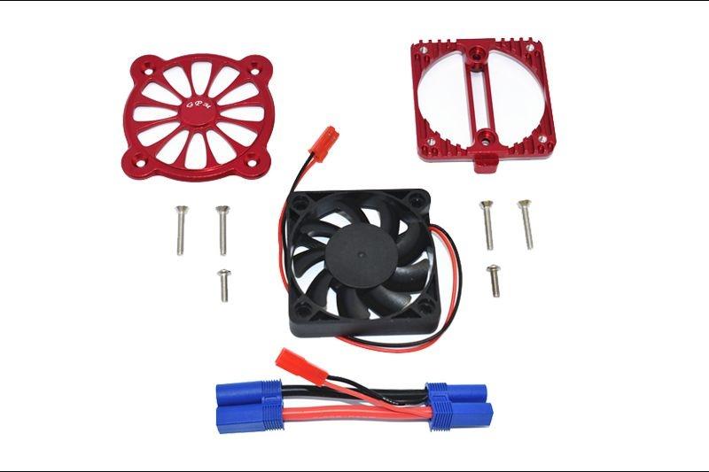 GPM Aluminium Motor Heatsink with Cooling Fan -