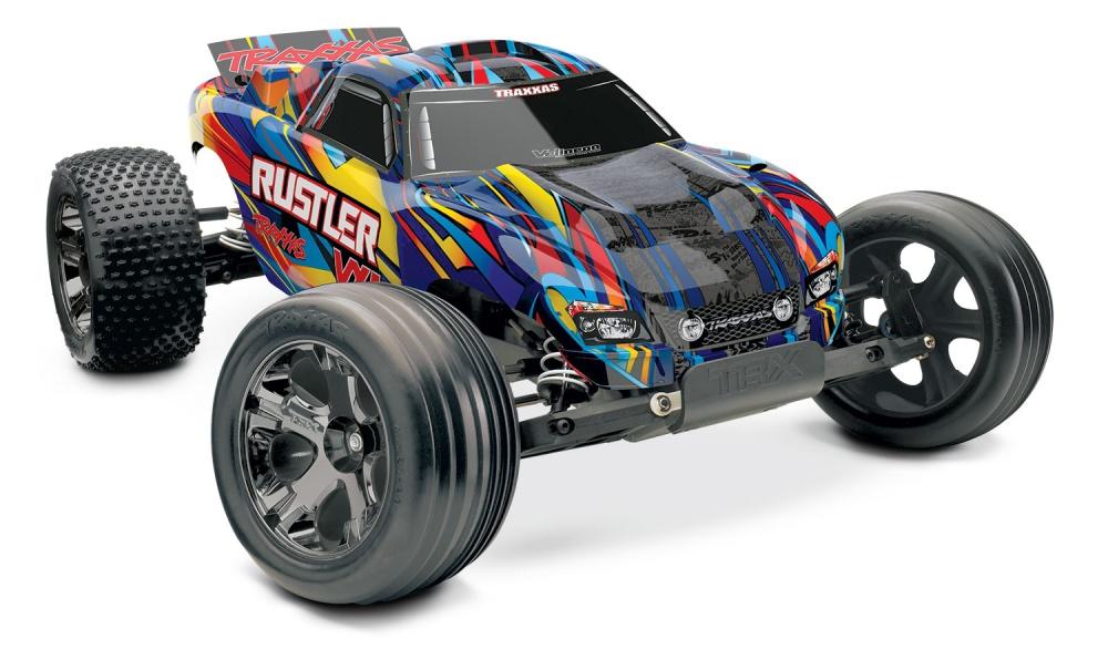 Traxxas Rustler VXL BL 2WDStadium Truck Rock and Roll