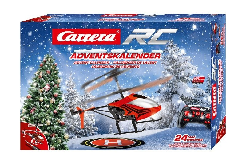 Carrera RC Adventskalender mit 2,4GHz RC Helicopter