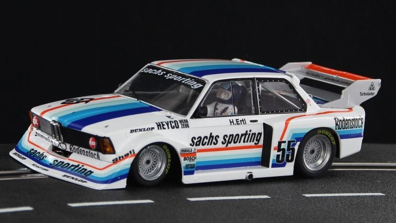 Sideways BMW 320 Nr. 55 - Sachs Sporting Team -