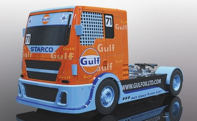 Scalextric Gulf Racing Truck #71 SRR