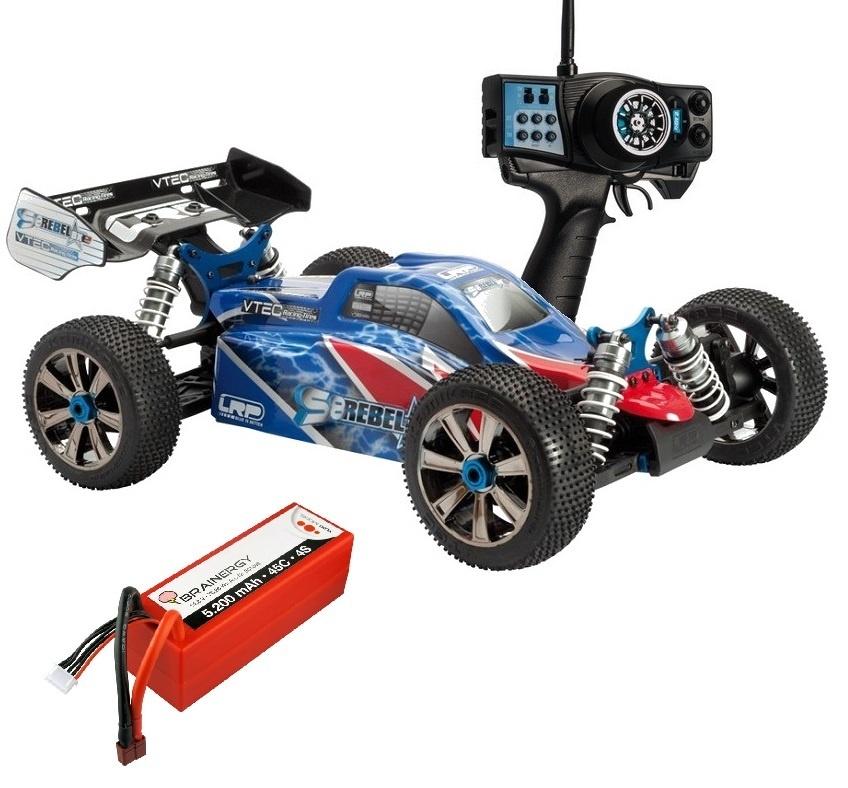 LRP S8 Rebel BXe 2.4GHz Elektro Buggy 1:8 RTR -SPARSET1-