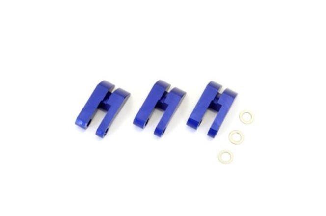 Kyosho Kupplungsbacken für 3 Backen 1:8 Kupplung (Alu blau)