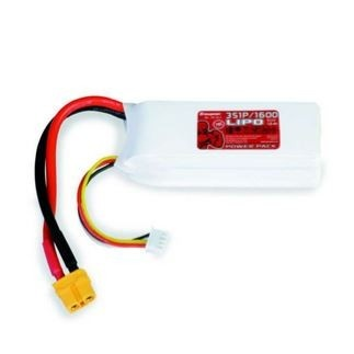 Graupner Power Pack LiPo 3S / 1600 mAh, 11,1 V, 70 C, XT-60