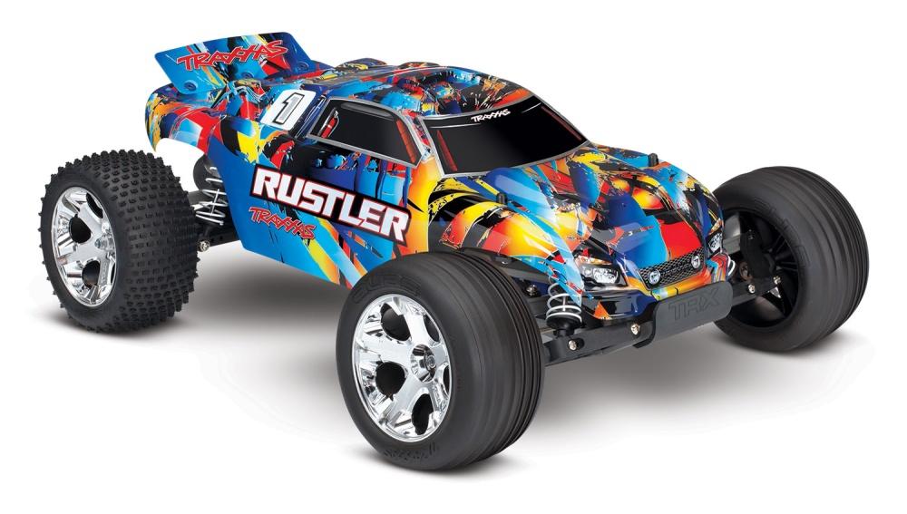Traxxas Rustler Stadium Truck (12T+XL-5) 2.4GHz RTR 1:10