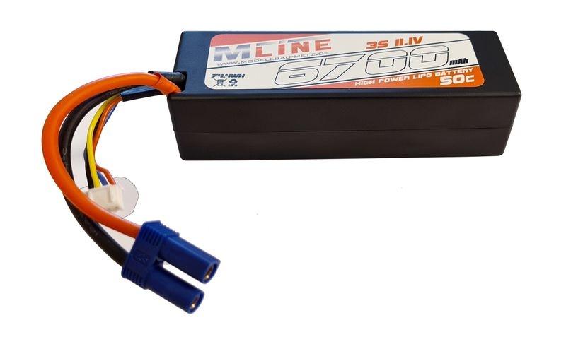 MLine Power Racing 50C - 6700mAh - 3S - 11,1V - EC5 -