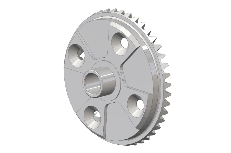 Team Corally Diff. Bevel Gear 40T - Steel - 1 pc