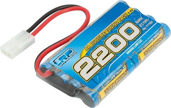 LRP AA 8-Zellen NiMh Stickpack 2200 - 9.6V