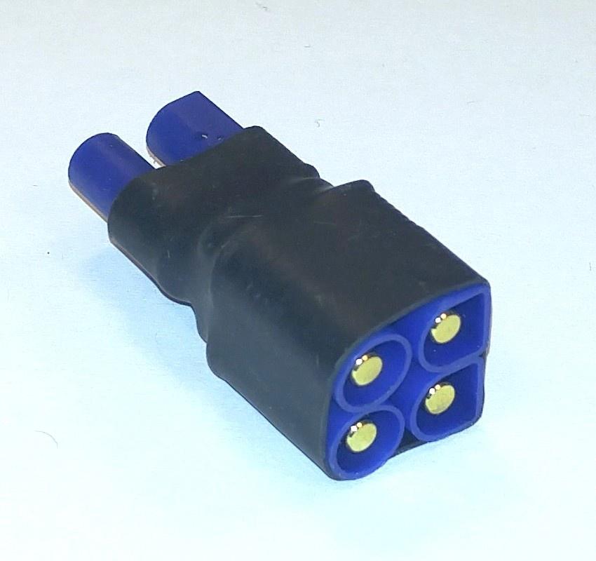 Kurzadapter EC3-Verbinder-parallel, 1 Stück, lose