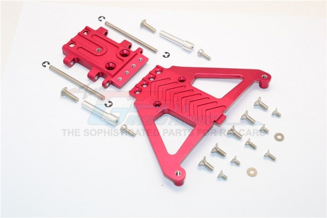 GPM aluminium front gear box protector - 1 PC Set for