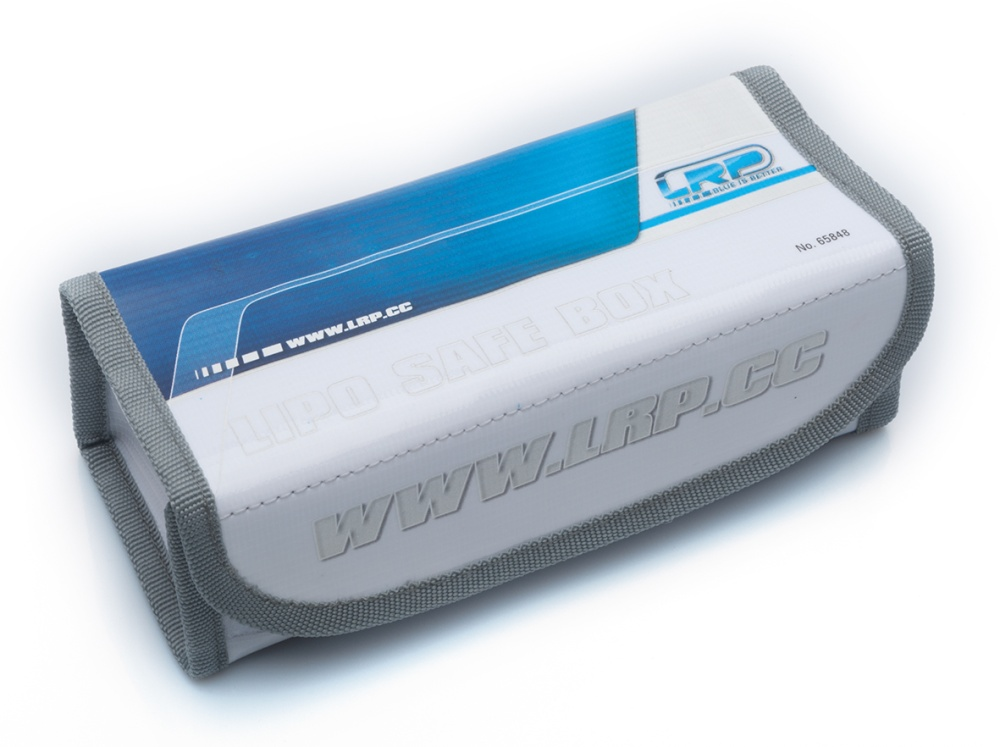 LRP LiPo Safe Box - large 18x8x6cm